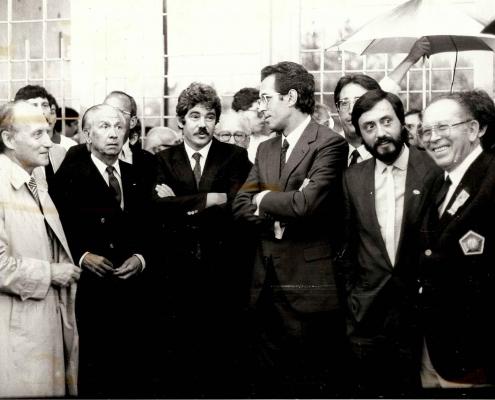 Luis Puig en los Mundiales Barcelona 1984