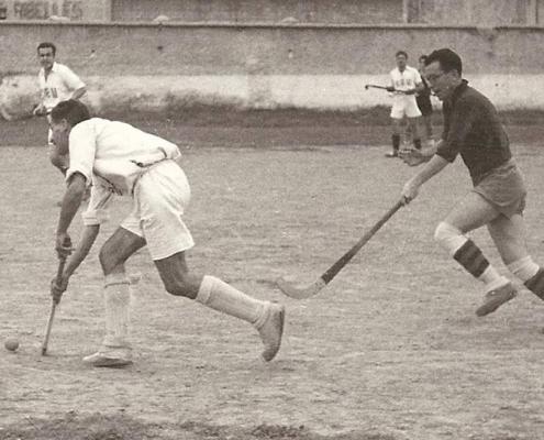 Luis Puig jugador de hockey hierba