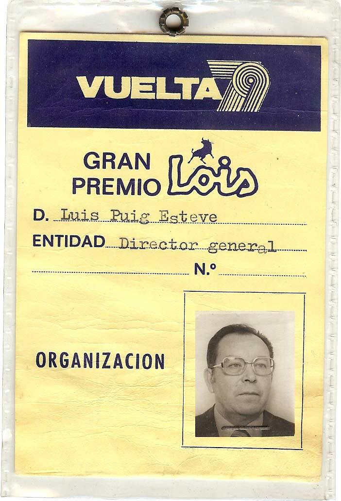 Luis Puig salvador de la Vuelta España