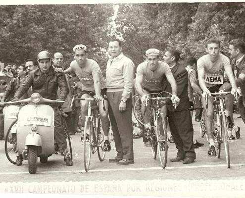 Luis Puig en los Campeonatos de España 1961