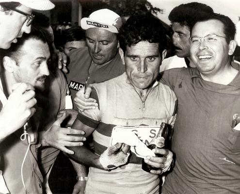 Luis Puig con Bahamontes