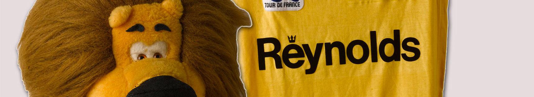 Mallot y León Amarillos de la última etapa del Tour de Francia de 1988